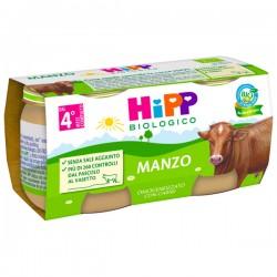 HIPP BIO OMO MANZO 2X80G