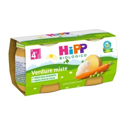 HIPP BIO OMO VERDURE MISTE 2X80G