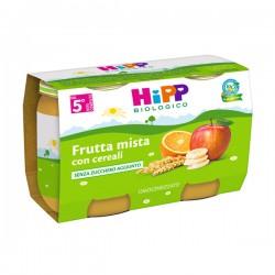 HIPP BIO OMO FRUTTA MISTA E CEREALI 2X125G
