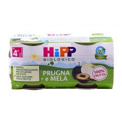 HIPP OMOG PRUGNA MELA 2X125G
