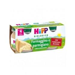 HIPP BIO OMO FORMAGGINO E PARMIGIANO 2X80G